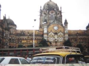 Chhatrapati Shivaji Terminus, Mumbai, India. A lifeline for millions of daily commuters.