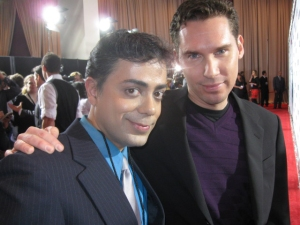 Ravi Yande and good friend Bryan Singer