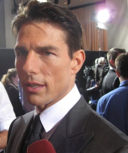 "Accomplished & talented actor Tom Cruise at the red carpet premiere of his movie ""Valkyrie"""