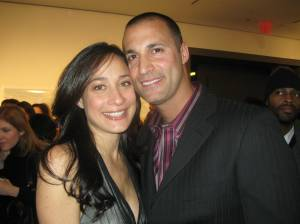 Nigel Barker and beautiful wife Cristen Chen at Edeyo charity event at Milk Studios.