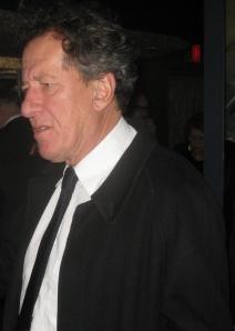 Academy Award winning actor Geoffrey Rush attend NY Oscar party
