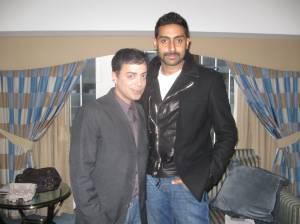 Ravi Yande with Abhishek Bachchan