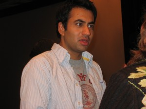 "Kal Penn talking at ""The Namesake"" party in NY"