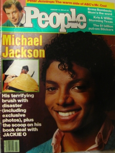 Michael Jackson graces the cover of 1984 People Magazine. (from The Ravi Report magazine archives)
