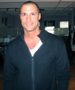 World famous lensman Nigel Barker smiles for The Ravi Report