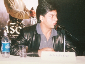 Bollywood megastar Shah Rukh Khan says his recent detainment at Newark airport had to do with racial profiling.