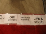 The Ravi Report's official spot on the red carpet!