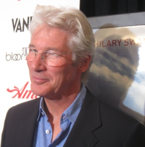"Actor Richard Gere gives one of his finest performances in ""Amelia""."