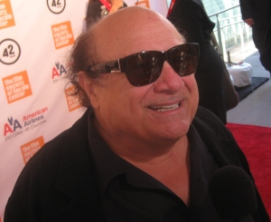 Long time friend and colleague actor Danny Devito was part of the celebration.