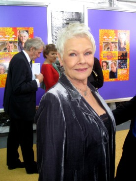 Dame Judi Dench posed for The Ravi Report