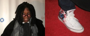 Board member, host, producer and amazing actress Whoopi Goldberg came in style!