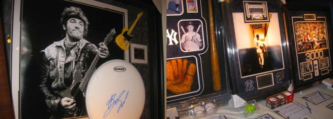 "From ""The Boss"" to The Yankee Greats, it was all there at the auction!"