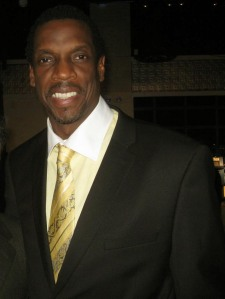 "Baseball legend Dwight ""Doc"" Gooden smiles for The Ravi Report"