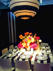 Stunning tabletop designed by Architectural Digest Magazine was a hit!