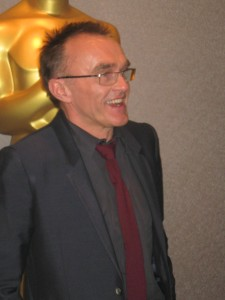 Academy award-winning Danny Boyle greets the anxious NY press