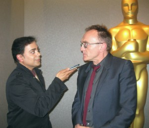 Ravi Yande interviewing acclaimed director Danny Boyle
