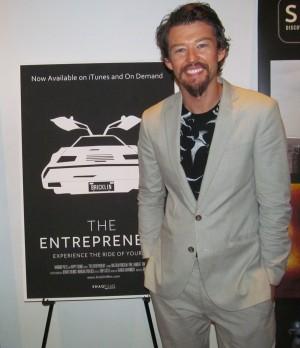 Director Jonathan Bricklin poses for The Ravi Report