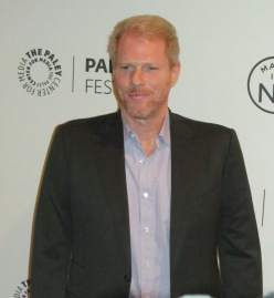 Star of The Americans, actor Noah Emmerich addresses the media on the red carpet