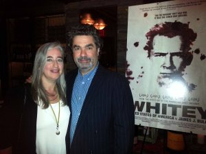 Academy Award nominated director Joe Berlinger and wife Loren Eiferman exclusively pose for The Ravi Report