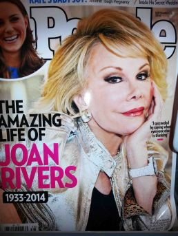 Thank you People Magazine for doing an excellent and respectful  Joan Rivers tribute. A classy magazine all the way folks!
